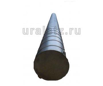 На изображении - деталь Пенал топливный L 4250 (оцинкованный Ф200)