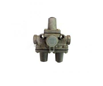 На изображении - деталь 100-3515210  Ремкомплект клапана защитного тройного, (завод)