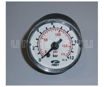 фото: PV1  Индикатор (манометр ) 12 атм визуальный