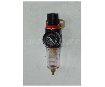 фото: Фильтр-регулятор воздушный с маномертром для автотопливозаправщиков (аналог фильтр-регулятор 1/8  208 D00  Camozzi)