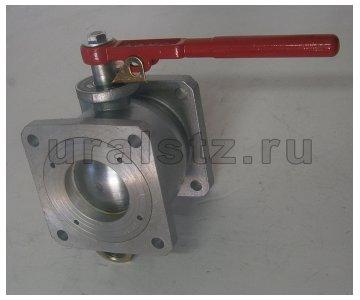 На изображении - деталь КШ-80  Кран шаровый кран шаровой с квадратными фланцами  3