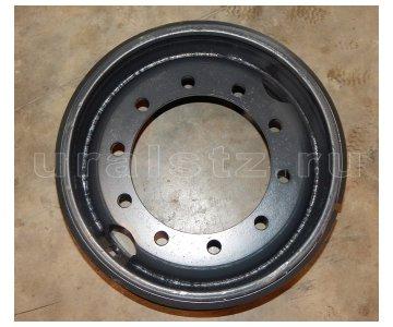 На изображении - деталь Колесо, 533-310 нагрузка 6,5т. (для преоборудования Камаз 6х6 двух/односкатное колесо 1260 R21)