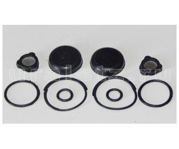 На изображении - деталь 100-3515110  Ремкомплект клапана защитного двойного,