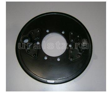На изображении - деталь Щит стояночного тормоза, 375-3507005