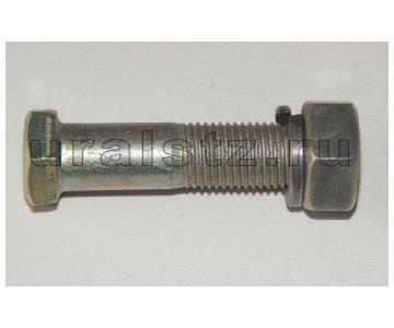 На изображении - деталь 1/14220/31  Болт М14х1,5х55 карданный в сборе (КАМАЗ евро)