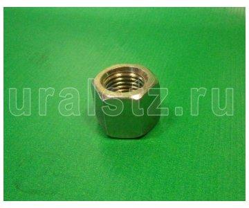 На изображении - деталь У334932 П29  Гайка передней стремянки М22 (25 штук) (завод)