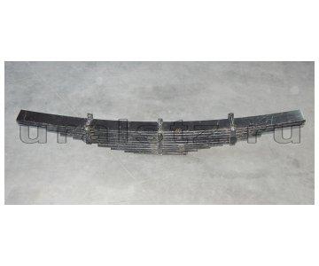 На изображении - деталь 4320Х-2912122  Рессора задняя (10 лист.) (завод)