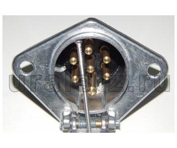На изображении - деталь Розетка+вилка (разъемы электрические), ПС 325-100/150