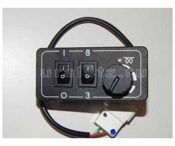 На изображении - деталь ПУ-4МР  Пульт управления ПУ 4МР
