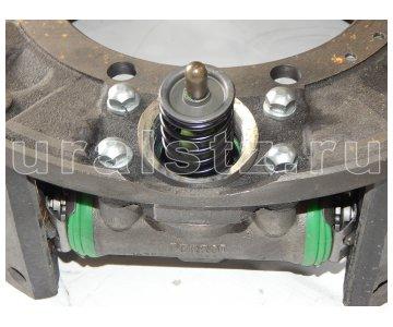 На изображении - деталь 4320БУ-3501010-20  Тормоз в сборе правого колеса (АБС,пневмотормоза),  (завод)