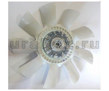 На изображении - деталь 536-1308010-03  Вентилятор с вязкостной муфтой ЯМЗ (650 мм)