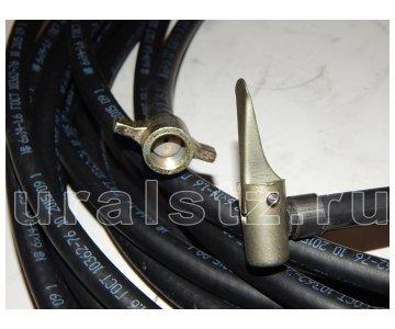 На изображении - деталь 375-3917100-03  Шланг накачки шин 15000 мм,