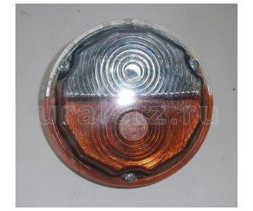На изображении - деталь 112.02.22 (ан.ПФ 130А и ан. С12/24 б/л пф130аб)  Подфарник передний,