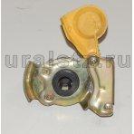 Фото: Евроразъем пневм.тягач с клапаном   (желтый) М22