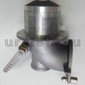 """Фото: ДУ 100 М  Клапан донный ручное управление  4""""J"""